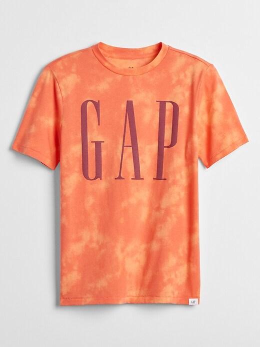 Kids Short Sleeve Gap Logo T-Shirt