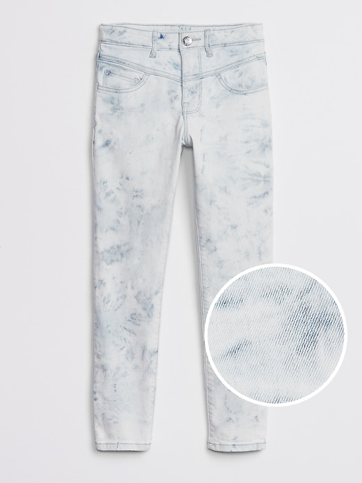 Kids High Rise Tie-Dye Jeggings with Stretch