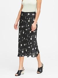Soft Satin Slip Skirt