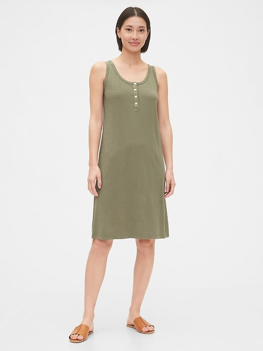 Henley Knit Dress