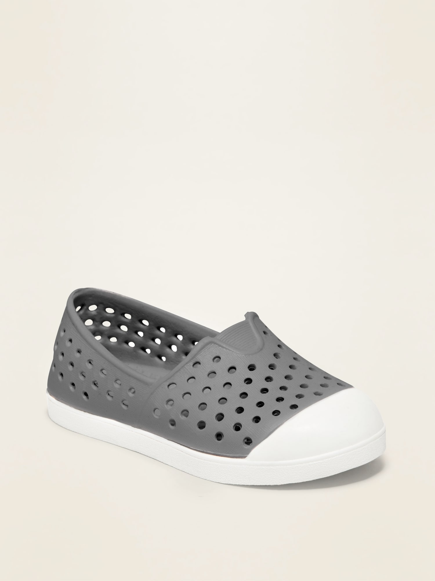 Perforated Slip-On Sneakers for Toddler