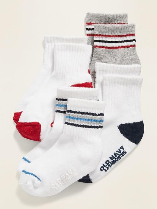 Sport Socks 4-Pack For Toddler & Baby