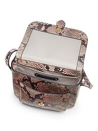 Mini Leather Saddle Bag