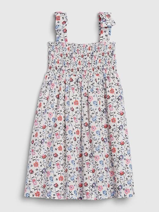 Toddler Floral Smock Dress