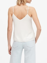 Petite Solid Strappy Camisole