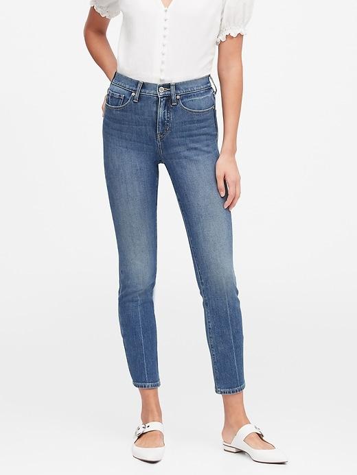 Petite High-Rise Slim Ankle Jean