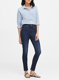 High-Rise Slim Ankle Jean