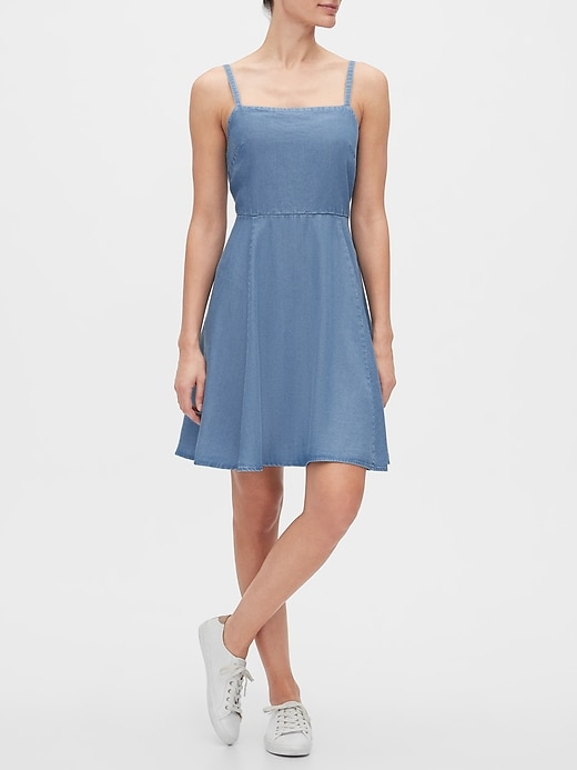 Fit and Flare Dress in TENCEL&#153