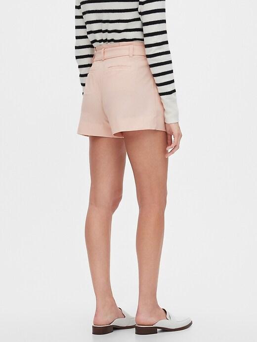 Paperbag Shorts - 4 inch inseam