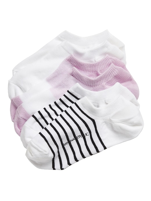 No-Show Sneaker Sock 3-Pack