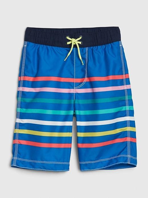 Kids Stripe Board Shorts