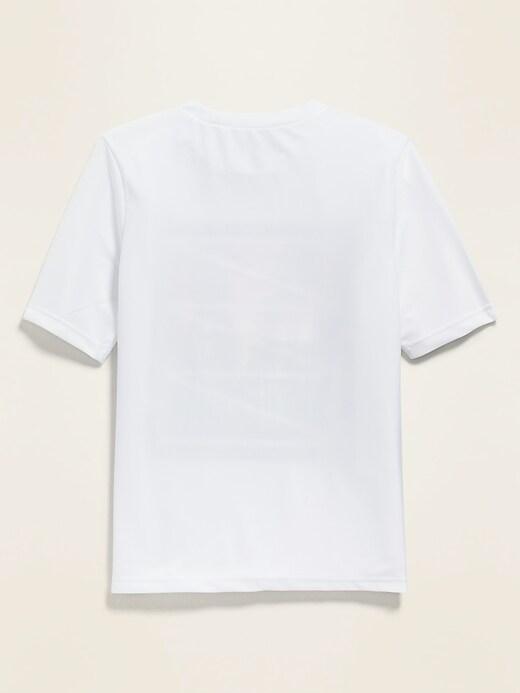 Graphic Short-Sleeve Rashguard for Boys