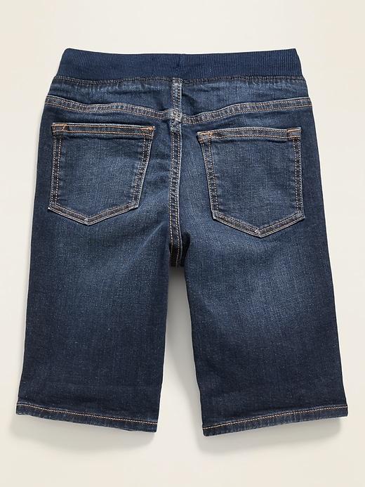 Karate Rib-Knit Waist Built-In Flex Max Jean Shorts for Boys