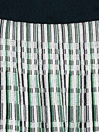 Jupe plissée en tricot