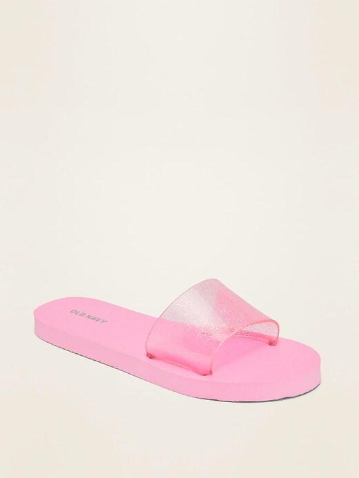 Glitter Pool Slides for Girls