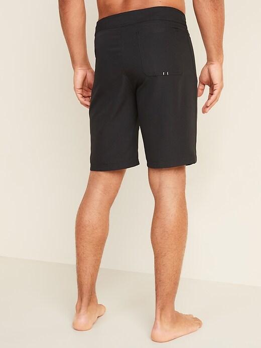 Solid-Color Board Shorts for Men -- 10-inch inseam
