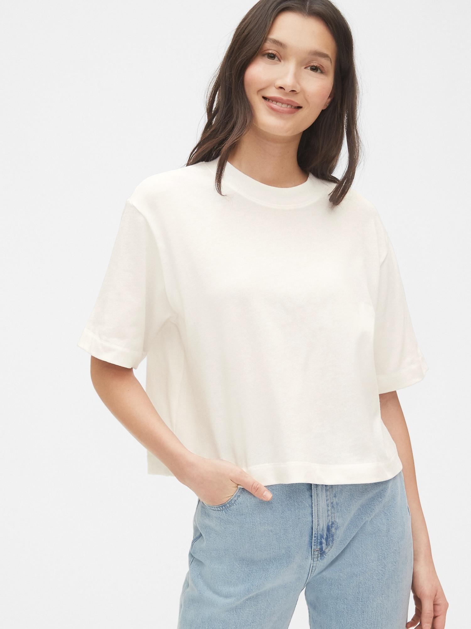 クロップドtシャツ