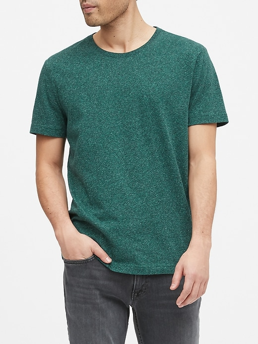 Tech Cotton Crew-Neck T-Shirt