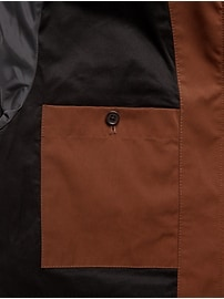 Water-Repellent Drill Jacket