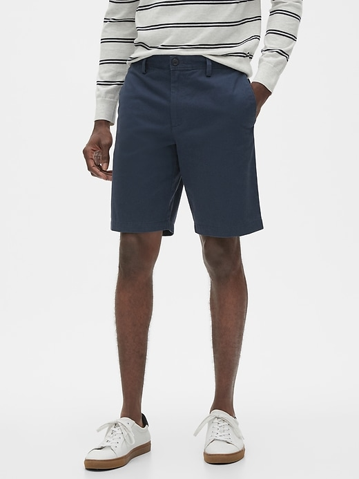 "Banana Republic Men's 10"" Aiden Slim-Fit Shorts"