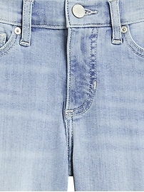 Mid-Rise Skinny Destructed Jean