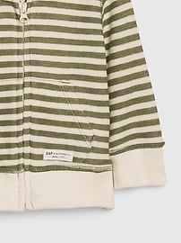 Baby Striped Hoodie Sweatshirt