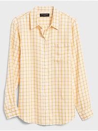 Boyfriend Twill Shirt