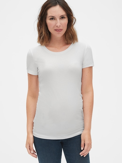Maternity Pure Body Crewneck T-Shirt