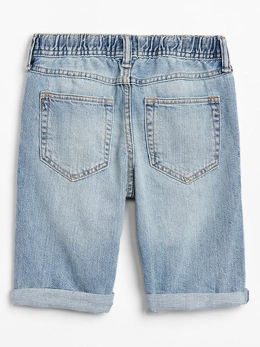 Kids Denim Pull-On Shorts