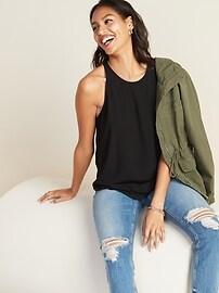 Sleeveless High-Neck Top for Women