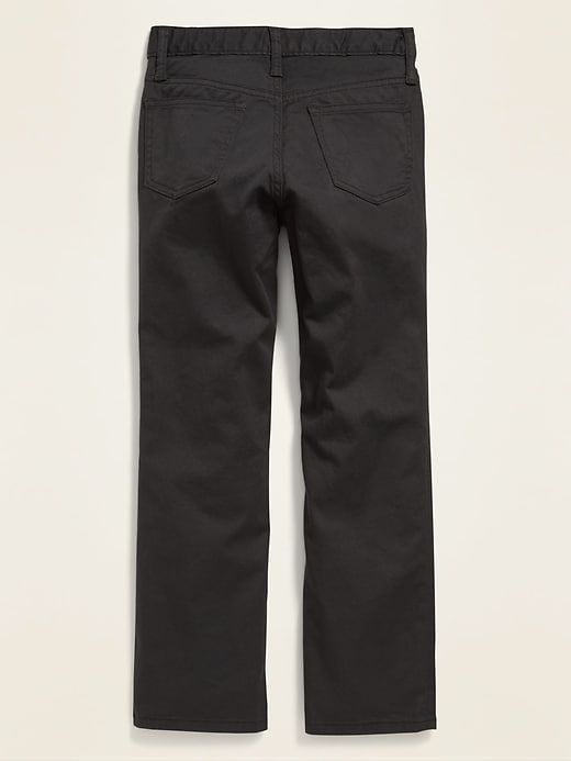 Straight Built-In Flex Color-Wash Jeans for Boys