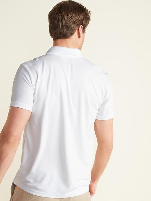 Moisture-Wicking Uniform Polo 3-Pack for Men