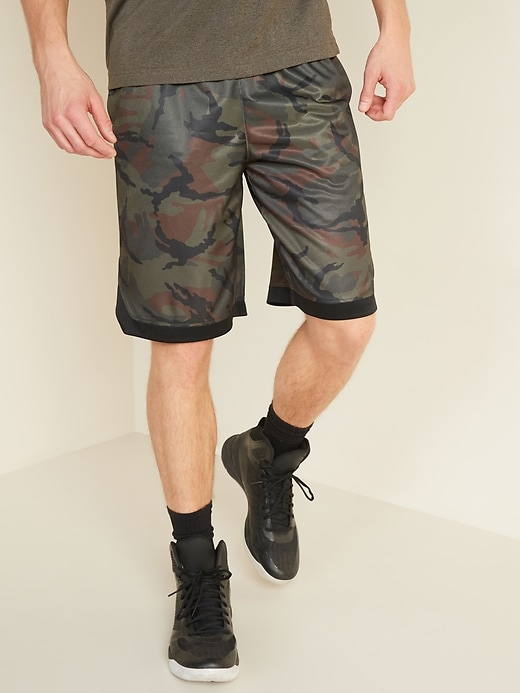 Go-Dry Mesh Shorts for Men - 10-inch inseam