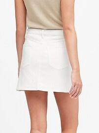Petite Denim Mini Skirt
