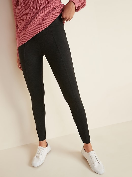 High-Waisted Stevie Ponte-Knit Pants for Women
