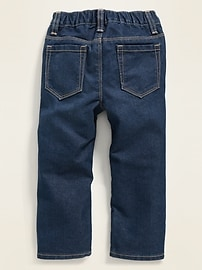 Pull-On Straight Jeans for Toddler Boys