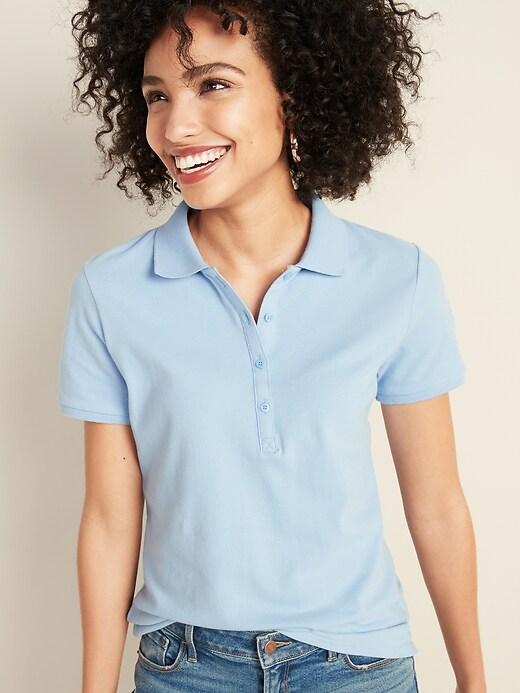 Uniform Pique Polo for Women