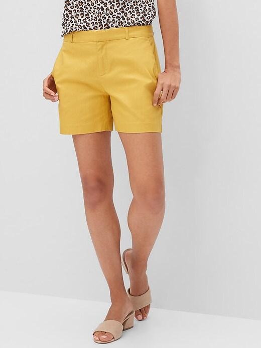 Pique Tailored Shorts - 5 inch inseam