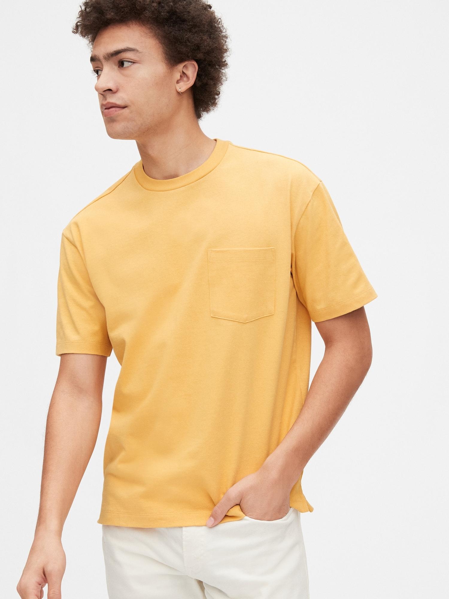 イージー ヘビーウェイトポケットtシャツ
