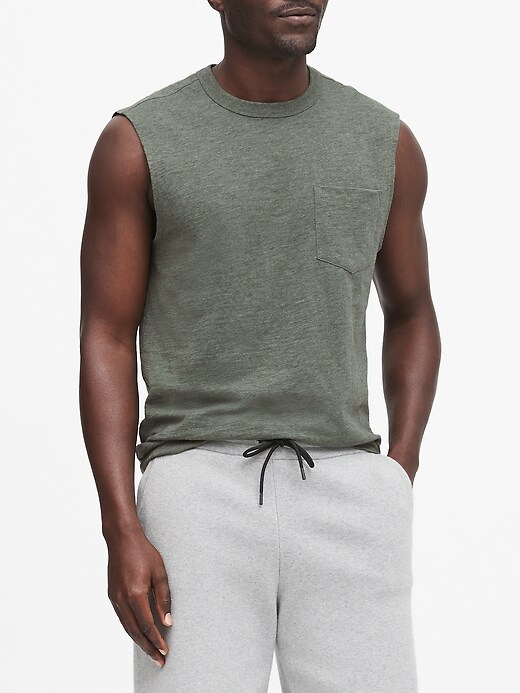 Vintage 100% Cotton Muscle Tank