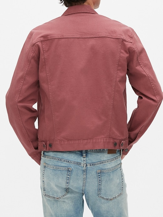 Icon Denim Jacket with GapFlex