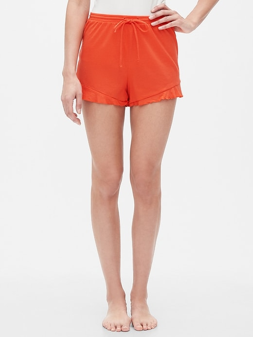 Shorts in Cotton-Modal
