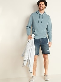 Garment-Dyed French Terry Unisex Pullover Hoodie