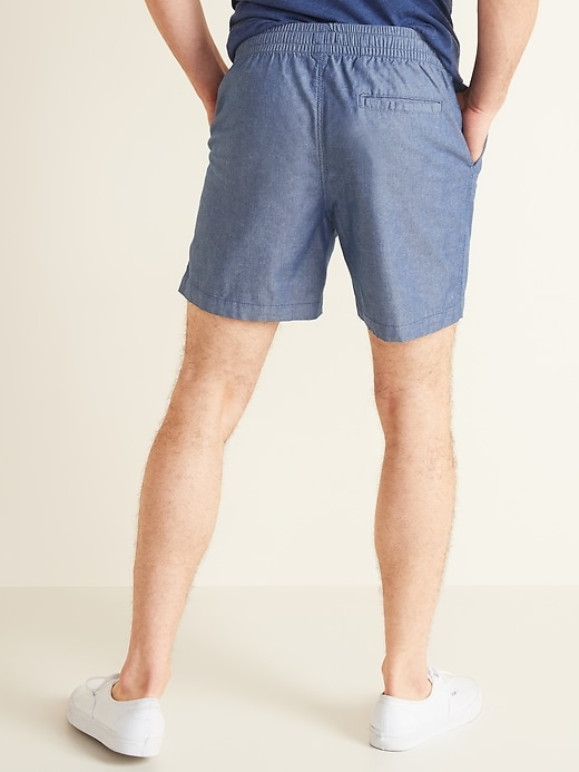 Twill Jogger Shorts for Men -- 7-inch inseam