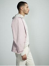Slim Stretch-Cotton Suit Jacket