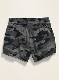 Go-Dry Cool Printed Run Shorts for Girls