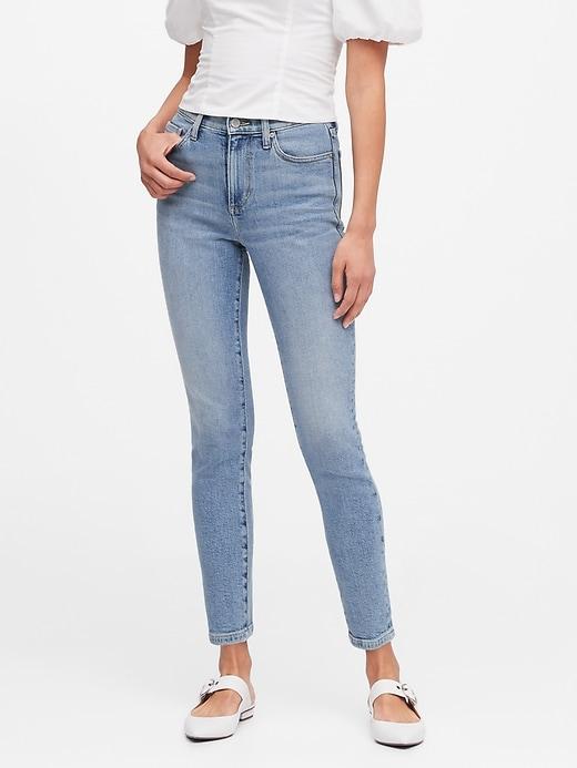 High-Rise Straight Jean