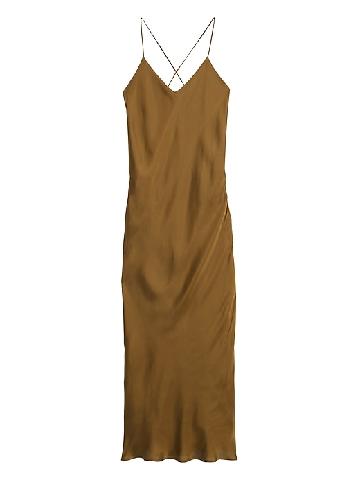 Fond de robe en satin