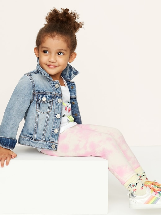 Toddler Leggings in Stretch Jersey