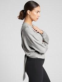 Yoga Tie Back Sweatshirt